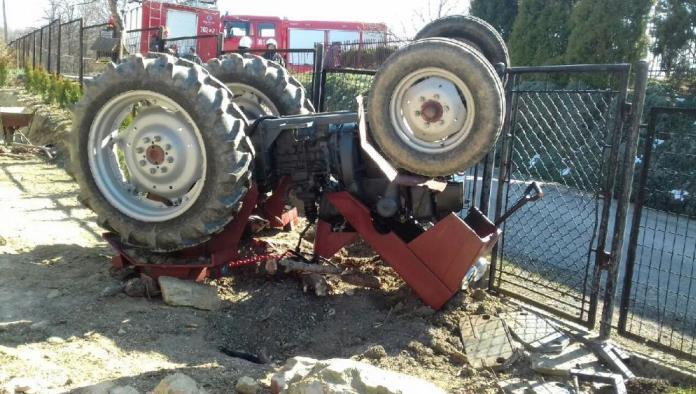 ciągnik, wypadek, wypadek na wsi