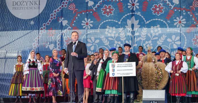 wyrównanie dopłat, Janusz Wojciechowski, Komisja Europejska, Andrzej Duda, rolnicy, Dożynki Prezydenckie
