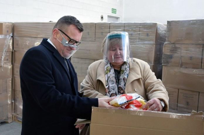 Ponad 62 tys. ton żywności dla potrzebujących