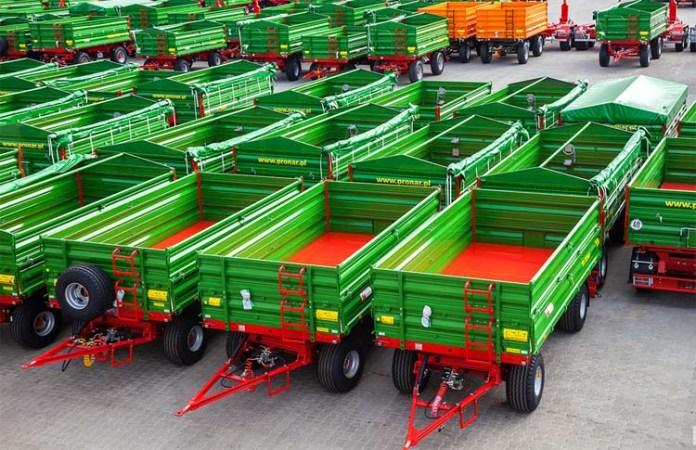 sprzedaż przyczep rolnczych, Pronar, Metal-Fach, Wielton, przyczepy