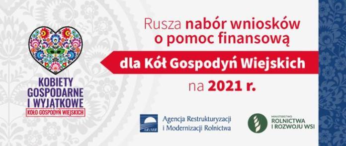 Startuje nabór wniosków o wsparcie dla KGW na 2021r.
