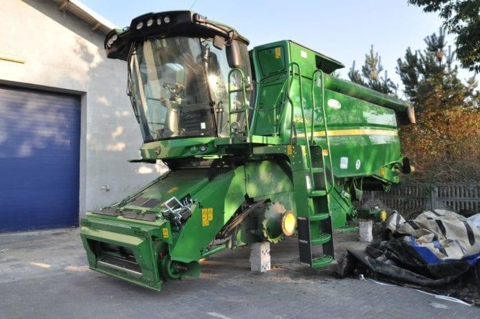 przywłaszczenie maszyn rolniczych