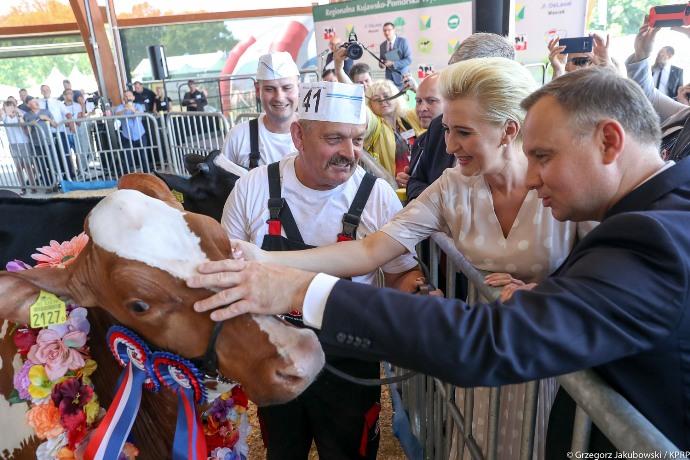 AgroLiga, Andrzej Duda, Minikowo, Targi w Minikowie, Agro-Tech