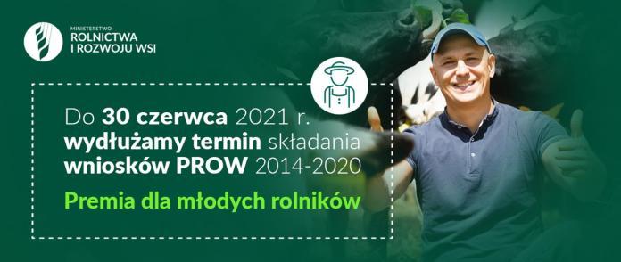 Premie dla młodych rolników - termin wydłużony