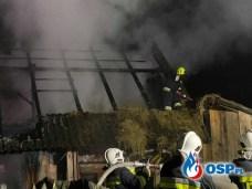 Groźny pożar wybuchł w sobotę około godziny 23 w Zubrzycy Górnej w powiecie nowotarskim. Do akcji ruszyły zastepy strażaków z całej gminy Jabłonka.