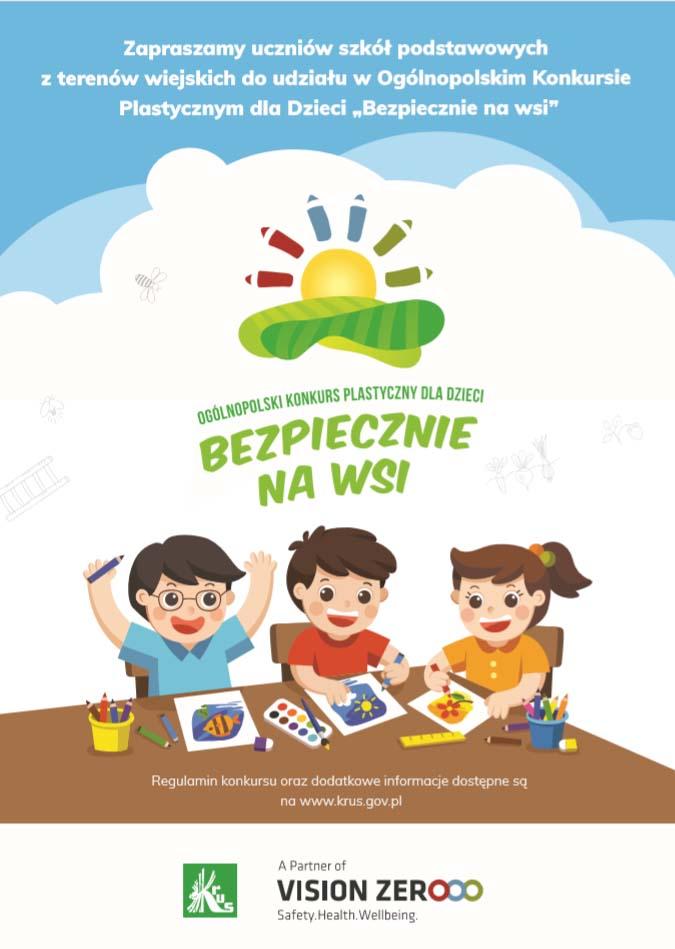 Kasa Rolniczego Ubezpieczenia Społecznego, KRUS, Konkurs plastyczny dla dzieci