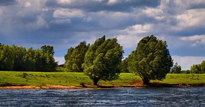 rolnik, rzeka, wisła, awaria oczyszczalni ścieków, Czajka, Główny Inspektorat Ochrony Środowiska