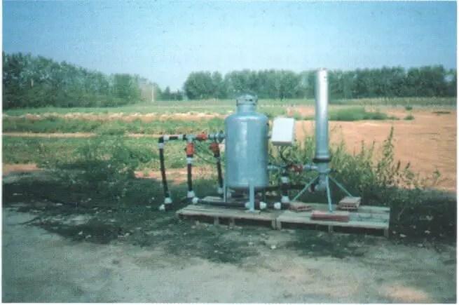 Fig. N°(14): station de filtration  Source (Léopold RIEUL, Pierre RUELLE, 2003)