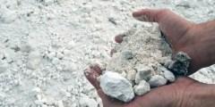 Répartition des sols gypseux en Algérie