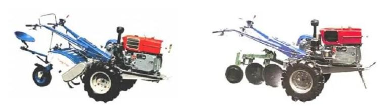 Tracteur semi-automatique pneumatique جرار نصف آلي ھوائي