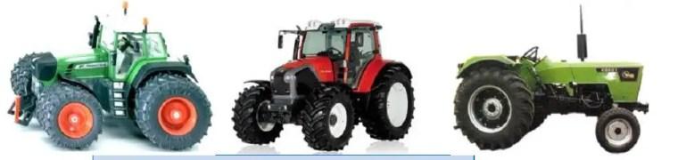 Tracteur conventionnel جرار حقلي عادي
