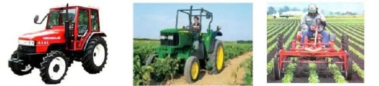 Tracteur d'agriculture en ligne (Enjambeur) جرار الزراعة في خطوط