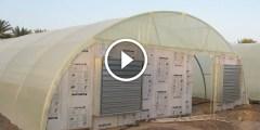 فيديو .. البيوت الزراعية المبردة