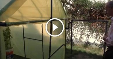كيف تبني محمية زراعية صغيرة