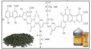 التركيب الكيميائي لحامض الهيوميك