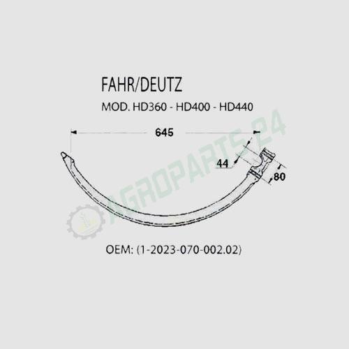 Deutz-Fahr - 1.2023.070.002.02 2