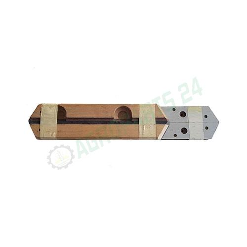 Claas Bautz Compact 410, 460 Holz Schiene Führungsholz Kolbenführungs Komplettset Passt Zu: Claas - Bautz, Compact 410, 460 Teilnummer: 927.401.0, 927.402.0, 927.403.0, 927.404.0 3