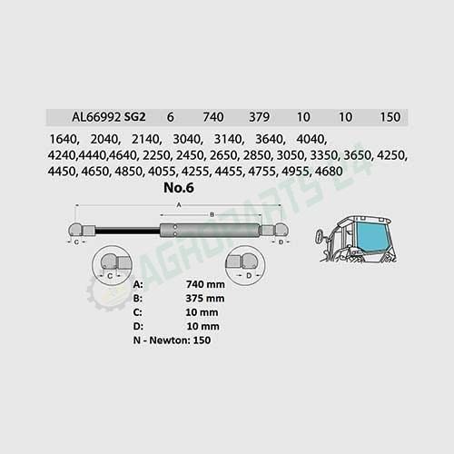 John Deere - AL66992 2