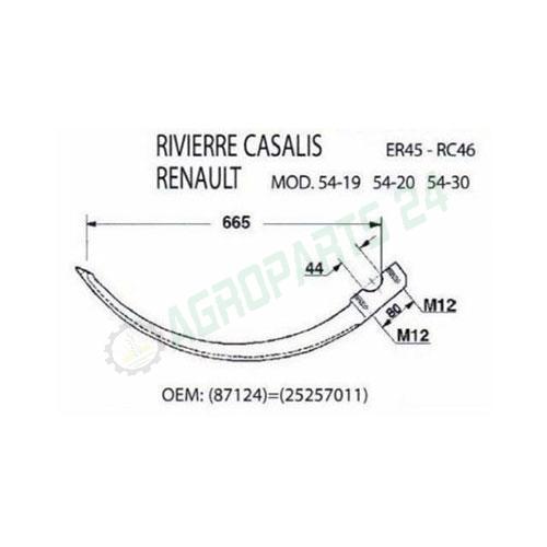 Rivierre Casalis, Renault - 87124, 25257011 2