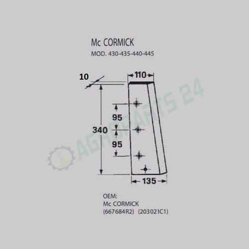 IHC Mc Cormick - 667684R2, 203021C1