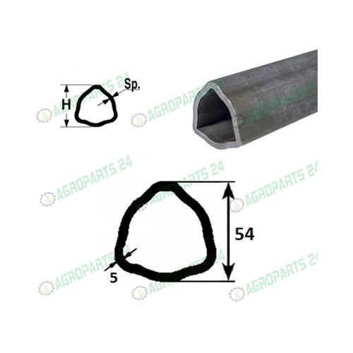 Profilrohr Gelenkwelle Walterscheid 54,0 x 5,0mm