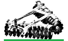 for Disc harrows and Cultivators