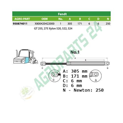Fendt -X800420422000 2