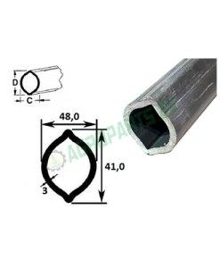 Zitronenprofil L300-1450 48x41x3 mm.