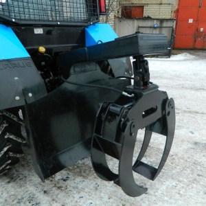 Захват бревен ЗБН-1500П с плитой