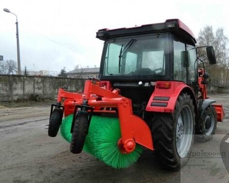 Оборудование щеточное на трактор МТЗ Буран-22