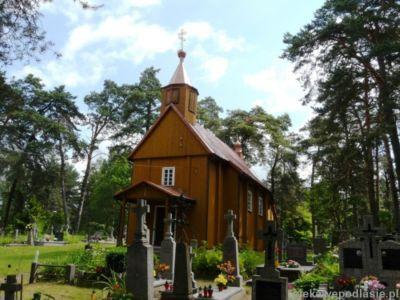 Cerkiew Cment Pw Podwyzszenia Krzyza Sw I Kapliczka Sw Paraskiewy
