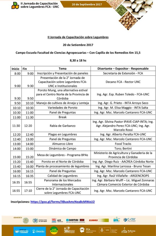FCA-Temario II Jornada Legumbres w