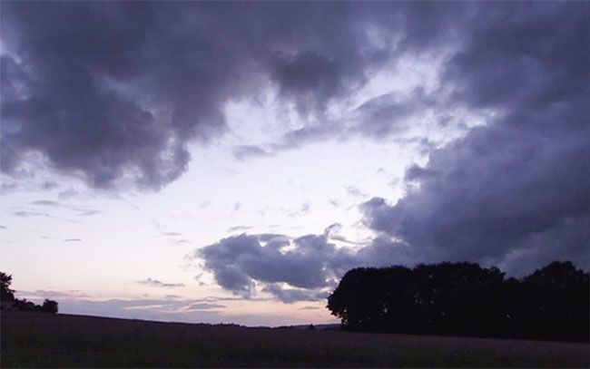 Nube de lluvia w