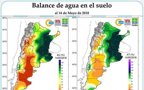 CLIMA - 14 de Mayo Balance de Agua foto w