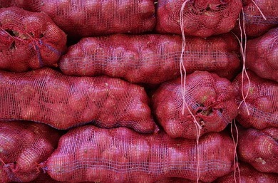 Saco de cebollas