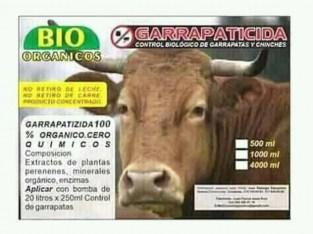 GARRAPATICIDA ORGANICO