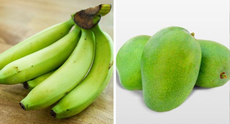 Los mangos y las bananas verdes pueden prevenir el cáncer de colon, según investigadores