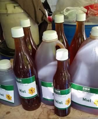 Vendo miel pura