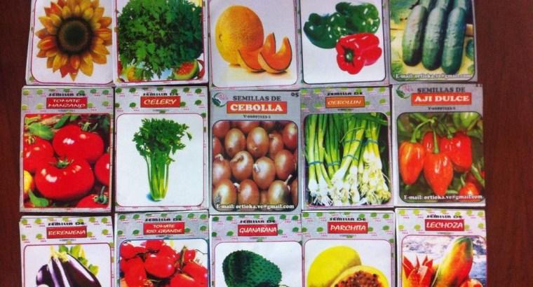 Semillas de hortaliza