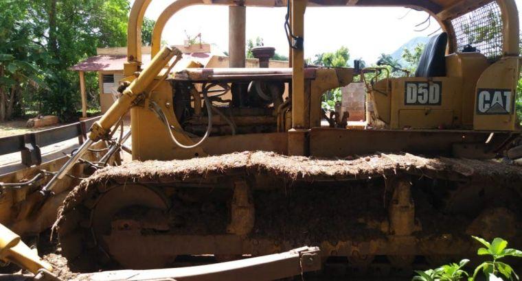 Tractor caterpillar D6D