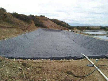 Se construye reservorios
