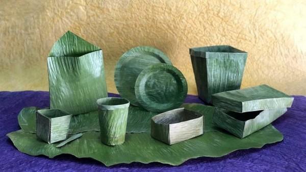 Banana Leaf Preservation Technology: hojas de banana que sustituyen al plástico