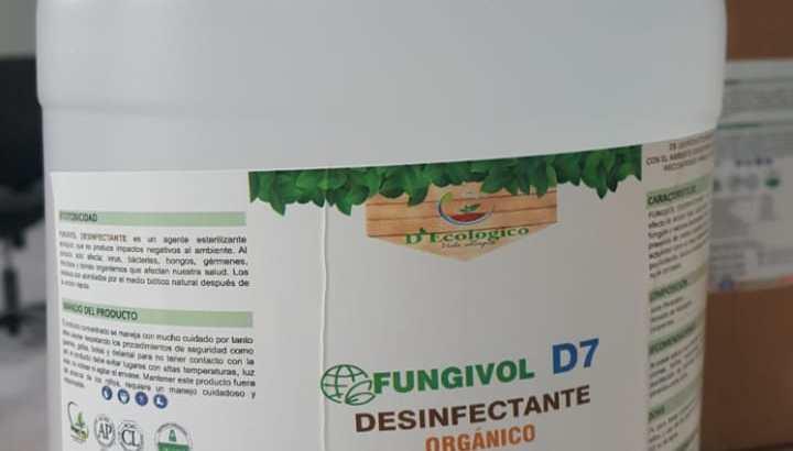 Desinfectante orgánico