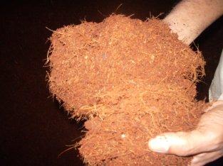Sustrato y fibra de coco