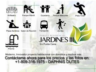 JARDINES III departamentos de 1, 2 y 3 habitaciones Pueblo Bavaro