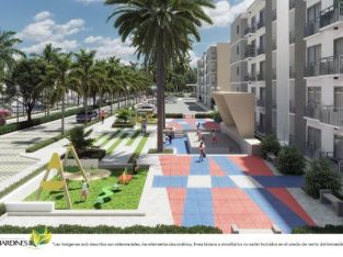 JARDINES III Apartamentos baratos para invertir en Punta Cana
