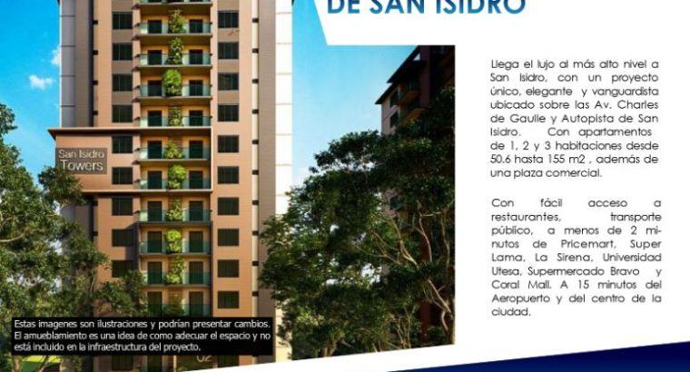 Torre en Autopista San Isidro Apartamento de 1 dormitorio