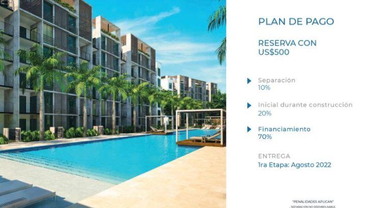 Residencial bajo costo en venta en Punta Cana