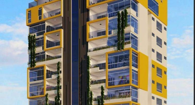 super apartamento en construcción ubicado el el ensanche ozama