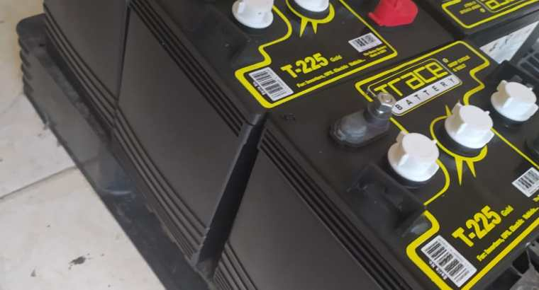 Baterias Trace